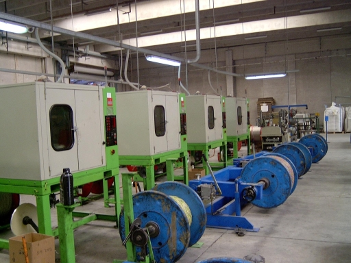 Used machines for Wire and Cable Industry